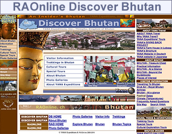 Discover Bhutan YANA Expeditions